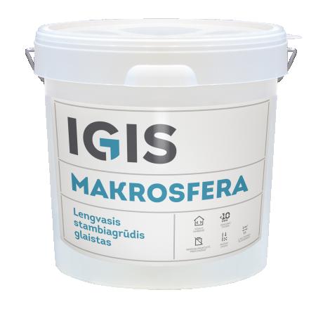 IGIS MAKROSFERA valmispahtel ämbris 17L spray / rulliga pealekandmiseks