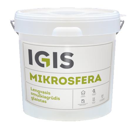 IGIS MIKROSFERA valmispahtel ämbris 17L spray / rulliga pealekandmiseks