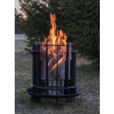 Lõkkease / lõkkealus / tulease, 4 mm terasest, sädemekaitse(roostevaba terasvõrk)